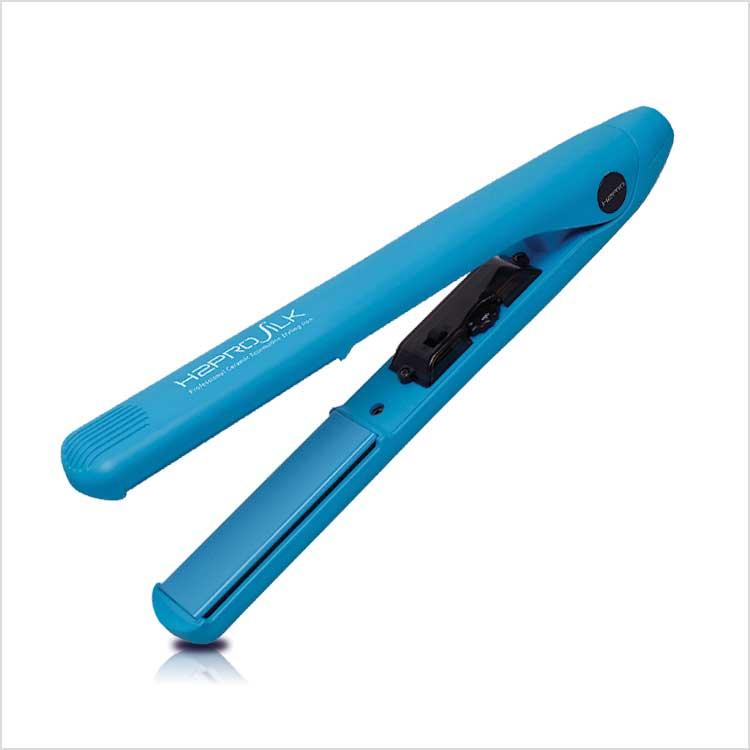 Silk 1″ – Ceramic Flat Iron – Blue - H2pro Beautylife